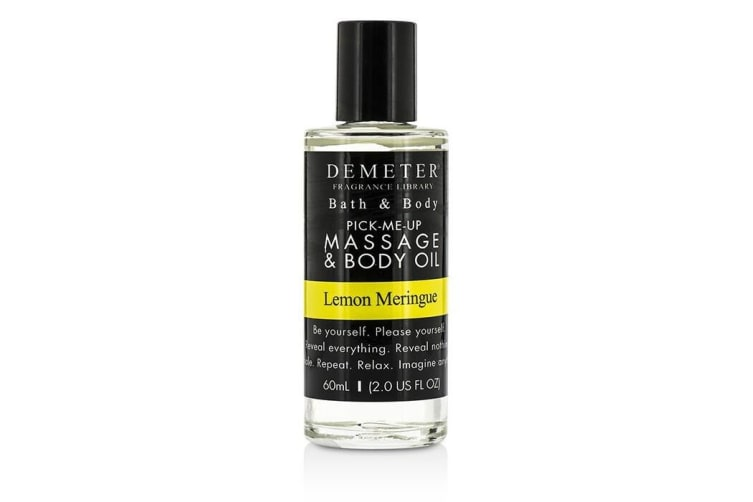 Demeter Lemon Meringue Massage & Body Oil 60ml