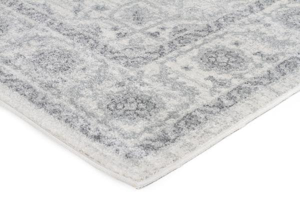 Winter White Transitional Rug 300x80cm