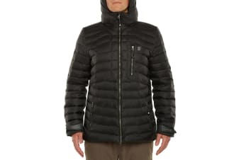 Vigilante Vinson Down Jacket - Black - Large