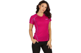 Regatta Womens/Ladies Tornell Wicking Active T Shirt (Dark Cerise) (18 UK)