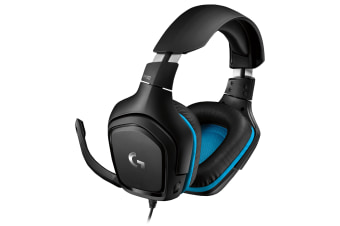 LOGITECH G432 WIRED 7.1 SRS, GAMING HEADSET, BLACK, 2YR WTY