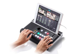 ATEN UC9020 StreamLIVE HD is a portable, all-in-one, multi-channel audio/video
