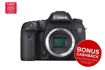 Canon EOS 7D Mark II DSLR Camera with W-E1 WiFi Adapter - Body Only