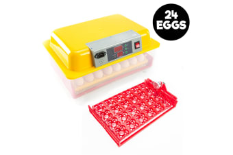 24 Eggs Digital Incubator With Tray