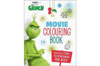 The Grinch: Movie Colouring Book - Movie Tie-in