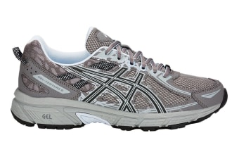 ASICS Women's Gel-Venture 6 Running Shoe (Carbon/Soft Sky, Size 6)