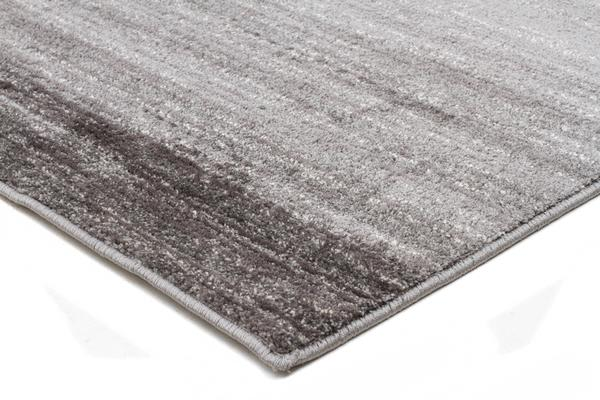 Pandora Contemporary Stripe Rug Charcoal Grey 230x160cm