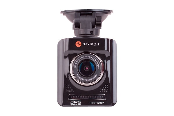 Laser Navig8r Super High Definition 1296p in Car Digital Video Recorder with GPS Tracking and Map Display