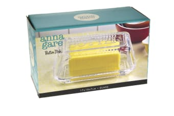 Anna Gare Butter Dish With Glass Lid