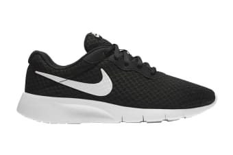 Nike Girls' Tanjun Shoe (Black/White)