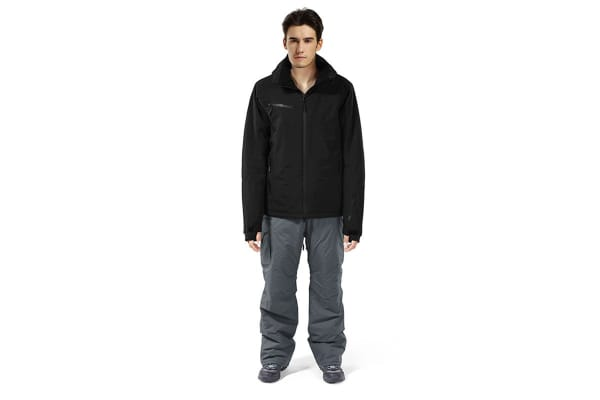 Komodo Mens Snow Jacket (Black, X-Large)