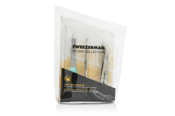 Tweezerman Mini Nail Rescue Set (Studio Collection) (3pcs)
