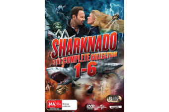 Sharknado The Complete Collection Box Set DVD Region 4