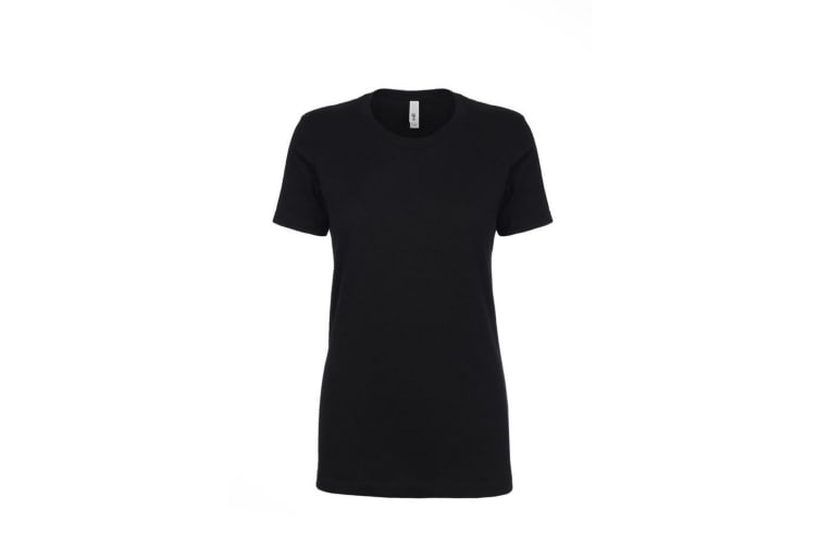 Next Level Womens/Ladies Ideal T-Shirt (Black) (L)