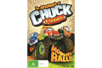 The Adventures of Chuck & Friends: Monster Rally - DVD Movie - Children - NEW
