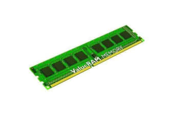 Kingston Desktop 8GB (1 x 8 GB) - DDR3 SDRAM - 1600 MHz DDR3-1600/PC3-12800 - Non-ECC - Unbuffered