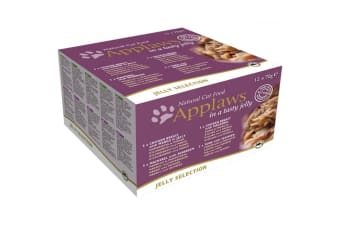Applaws Jelly Selection Wet Cat Food (12 Pouches) (May Vary) (12 x 70g)