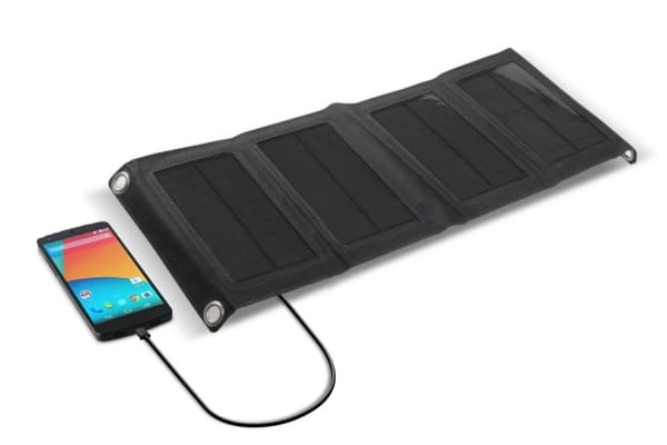 Foldable Solar Panel Charger for Smartphones
