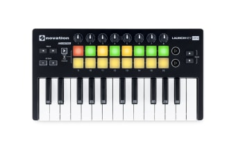 Novation Launchkey Mini MK2 Portable Ableton Keyboard MIDI Controller