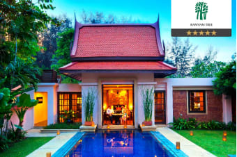 PHUKET: 5 or 7 Nights at Banyan Tree Phuket, Pool Villa for Two or Four
