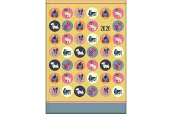 Dot the Dog - 2020 Diary Planner A5 Padded Cover by The Gifted Stationery