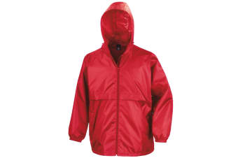 Result Mens Core Lightweight Waterproof Shield Windproof Jacket (Red)