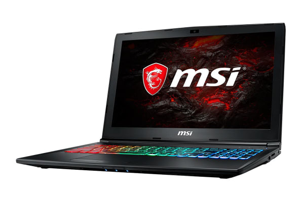 "MSI 15.6"" GP62M Leopard Pro FHD Core i7-7700HQ GTX1050Ti 4GB 1TB HDD 256GB SSD 16GB RAM Gaming Notebook (7REX-1640AU)"