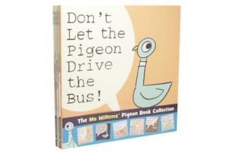 The Mo Willems' Pigeon Book Collection