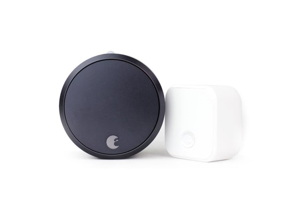 August Smart Lock Pro + Connect (Dark Grey)