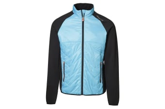 ID Mens Cool Down Lightlined Jacket (Aqua) (S)