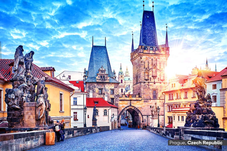 EUROPE: 22 Day Amazing Europe Tour Including 7 Nights Eastern Mediterranean Cruise with Flights for Two (Interior Cabin)