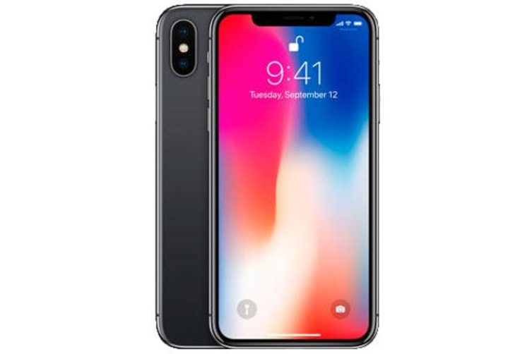 Used as Demo Apple iPhone X 64GB 4G LTE Space Gray (100% GENUINE + AUSTRALIAN WARRANTY)