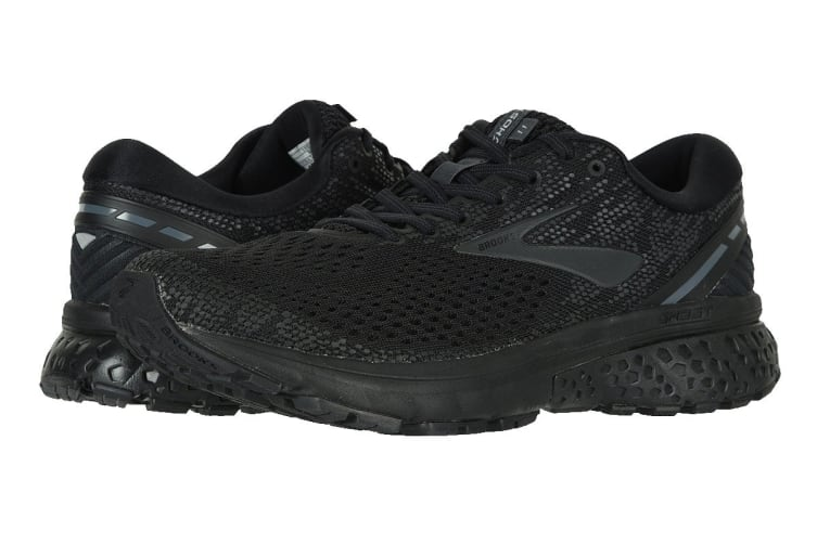 Brooks Men's Ghost 11 (Black/Ebony, Size 8)