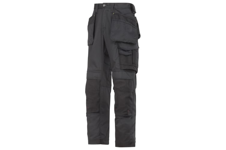 Snickers Mens Cooltwill Workwear Trousers / Pants (Black) (38R)