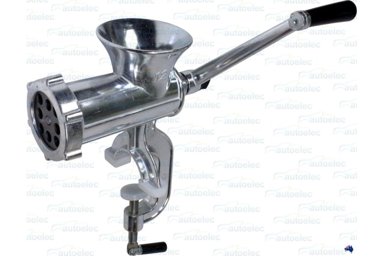 XXX MARINE 12MM HOLE MEAT BERLEY MINCER  BURLEY FISHING G CLAMP BENCH MOUNT MM12