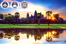 21 Day Vietnam, Laos & Cambodia Discovery Tour Including Flights for Two