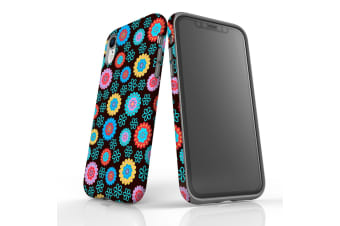 For iPhone XR Protective Case Unique Phone Cover  Multi Floral