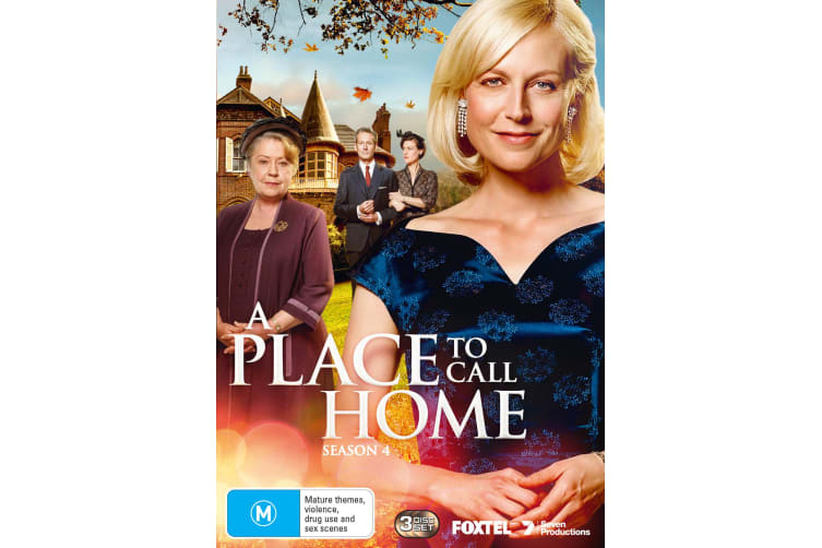 A Place to Call Home Series 4 DVD Region 4