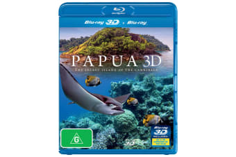 Papua 3D The Secret Island of the Cannibals 3D Edition Blu-ray Region B