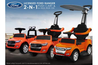 FORD Ranger Licensed Kids Ride On Car  - Orange