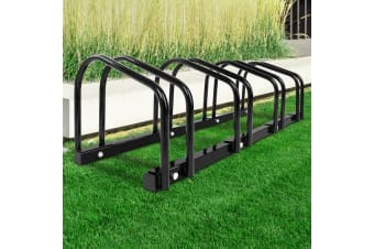 1  4 Bike Floor Parking Rack Instant Storage Stand Bicycle Cycling Portable BK