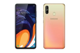 New Samsung Galaxy A60 Dual SIM 128GB 4G LTE Smartphone Orange (FREE DELIVERY + 1 YEAR AU WARRANTY)