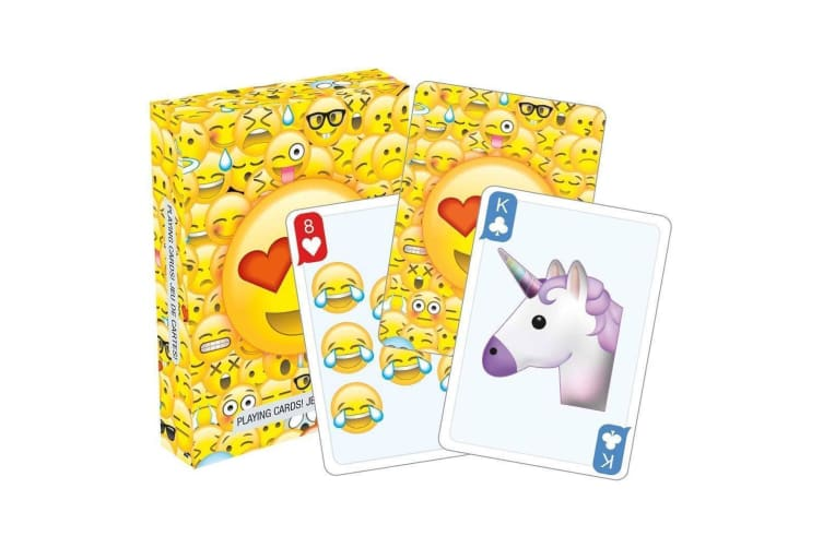 Emoticons Playing Cards Deck 52 Emoji`s