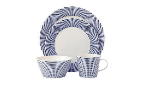 Royal Doulton Pacific Dinner Set 16pc Dots