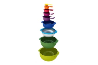Joseph Joseph Nesting Set 9 Plus (Multi Colour)