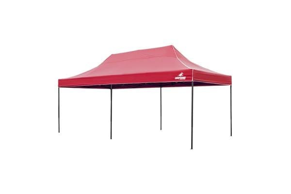 3x6m Gazebo Frame + Roof - RED