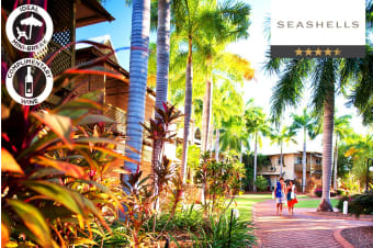 BROOME: 2 Night Luxury Apartment Stay at Seashells Resort Cable Beach