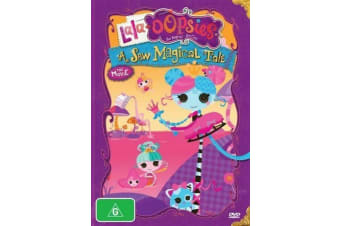 Lala-Oopsies - A Sew Magical Tale - The Movie (DVD, 2013, Region 4) NEW & SEALED