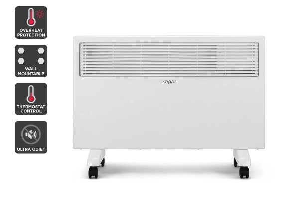 Kogan 1500W Portable Electric Panel Heater