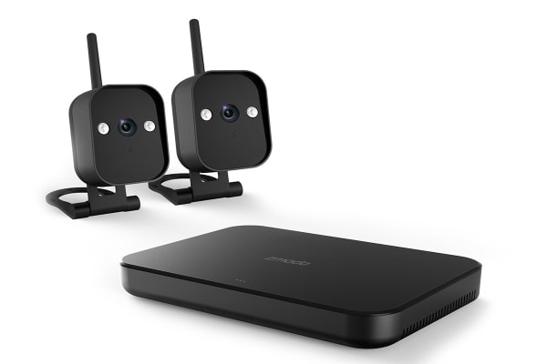 Zmodo 720p HD Smart Wireless Home Kit with 2 Outdoor Wi-Fi Cameras and 500GB Hard Drive